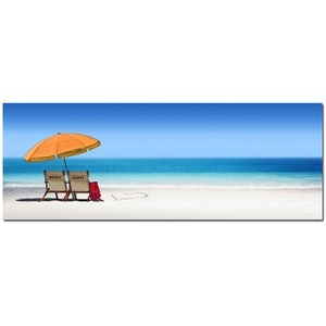 Personalized Beach Lovers Framed Print