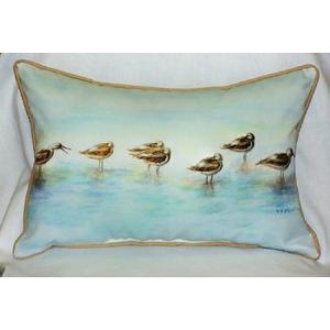 Avocets Indoor Outdoor Pillow