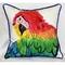 Parrot Head Indoor Outdoor Pillow