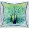Peacock Indoor Outdoor Pillow