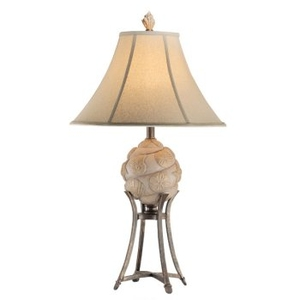 Shell Sphere Table Lamp