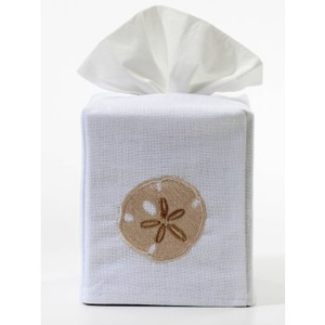 Sand Dollar Tissue Box Cover