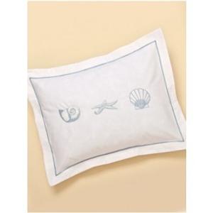Nautilus, Starfish And Scallop Shell Boudoir Pillow