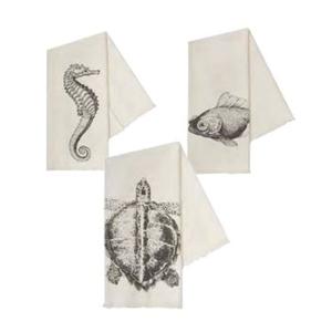 Sea Life Hand Towels Set Of 3