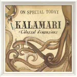 Kalamari Of Colossal Dimensions Framed Art