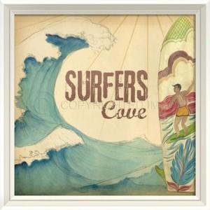 Surfers Cove Framed Art