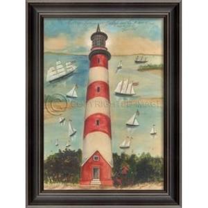 Assateague Lighthouse Framed Art