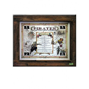 The Pirate's Code of Conduct Print