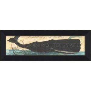 Guide For The Sperm Whale Framed Art
