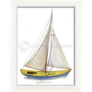 Day Boat No.2 Framed Art