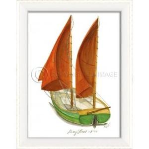 Day Boat No.3 Framed Art