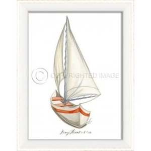 Day Boat No.5 Framed Art