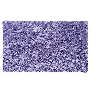 Shaggy Raggy Purple Shag Rug, 2.8 X 4.8