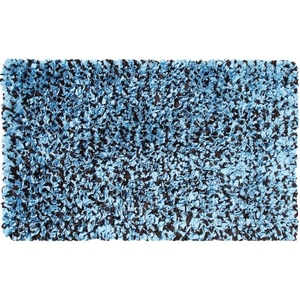 Shaggy Raggy Blue/Brown Shag Rug, 4.7 X 7.7