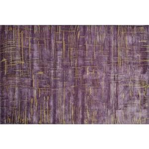 Anagola Purple Tufted Rug, 10 X 131