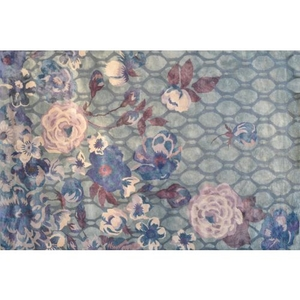X Anthe Gray Hook/Tufted Rug, 10 X 13