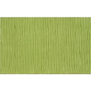 Wavy Green Tufted Rug, 5 X 8