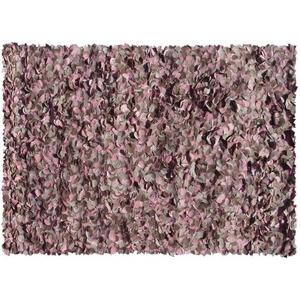 Peony-Pink Shag Rug, 8 X 11