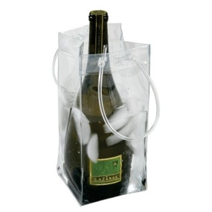 Ice Bag Collapsible Wine Cooler Bag
