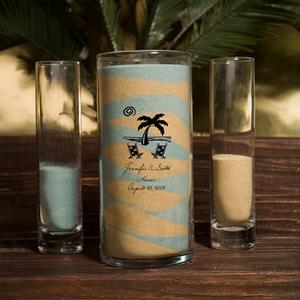 Personalized Sand Unity Vase Set