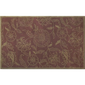 Giant Floral Tufted Rug, 5 X 8
