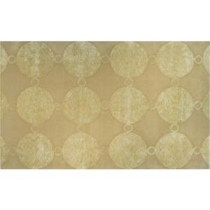Marceline-Gold Tufted Rug, 10 X 13