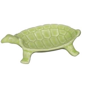 Small Turtle Dish, Light Green