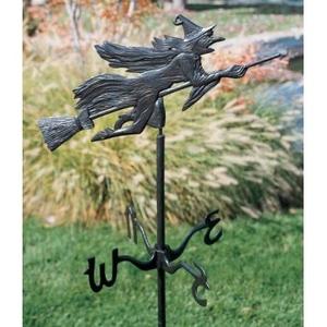 Flying Witch Garden Weathervane