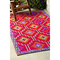Lhasa - Orange & Violet Indoor- Outdoor Rug