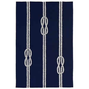 "Ropes Navy Rug 7'6"" X 9'6"""