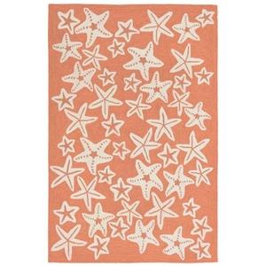 "Starfish Coral Rug 7'6"" X 9'6"""