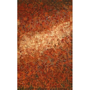 Arch Tile Red Rug 8' X 10'