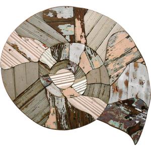 Nautilus Wooden Plaque