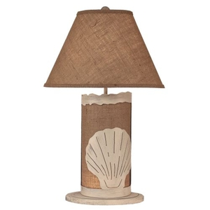 Coastal Lamp Shell Scene Panel W/ Nightlight