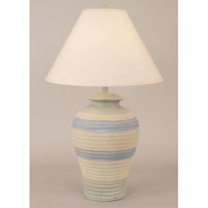 Coastal Lamp Pottery Pot