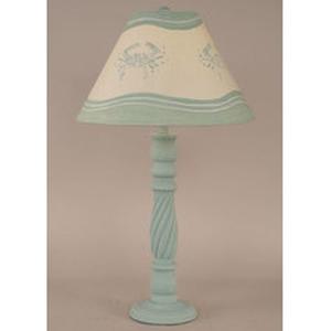 Blue Crabs Lamp Swirl Table Lamp