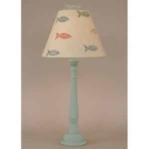 Coastal Lamp Round Buffet Fish Theme