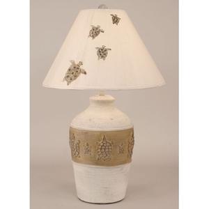 Coastal Lamp Turtle Pot