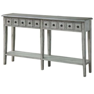 Newcastle 2 Drawer Antique White Console