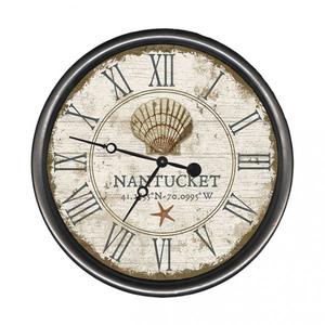 Personalized Scallop Shell Clock