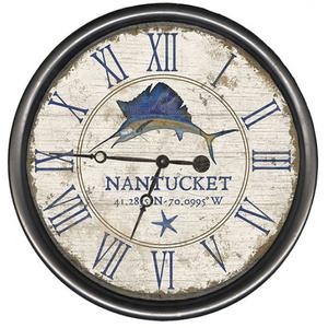 Personalized Sailfish Clock