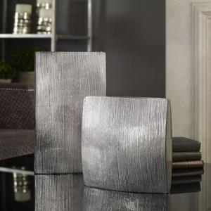 Darla Aluminum Vases S/2