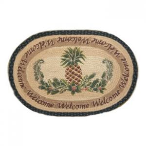Pineapple Welcome Rug