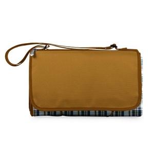 Blanket Tote Xl - English Plaid/Brown Flap