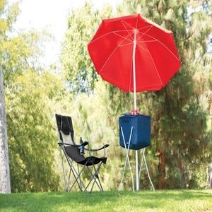 Campsite Chair-Black/Grey