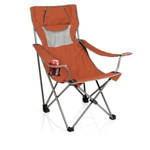 Campsite Chair-Burnt Orange/Grey