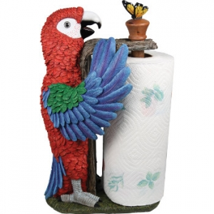 Parrot Paper Towel Holder