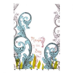 Mambo by the Bay Seahorse Towel