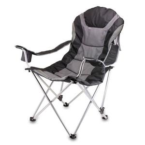 Reclining Camping Chair - Black
