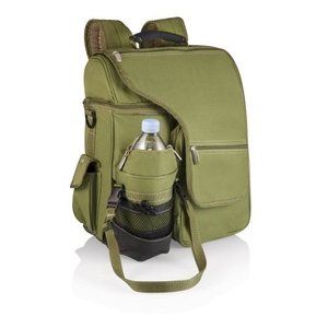 Turismo - Olive W/Tan Trim Insulated Backp